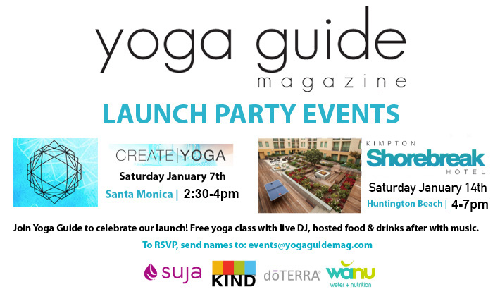 Yoga Guide Launch Party