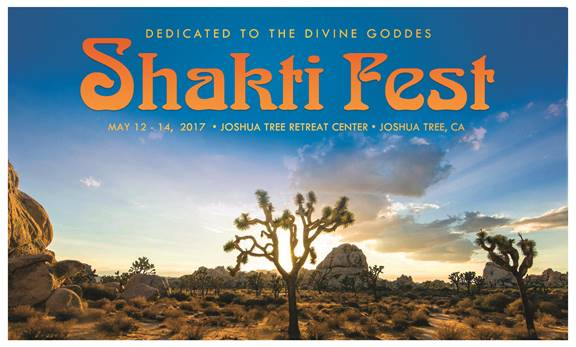 Shakti Fest 2017: Yoga and Sacred Music in Joshua Tree