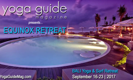 Yoga Guide Bali 'Equinox Retreat' Sept 16-23