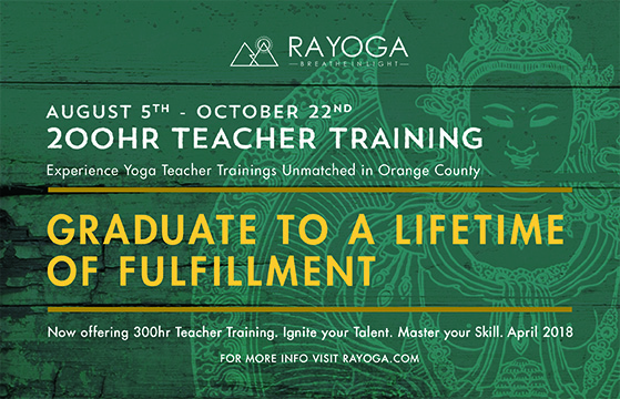 Ra Yoga Teacher Training in OC