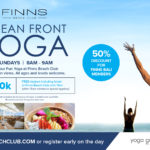 Ocean Front Yoga at Finns Beach Club in Bali