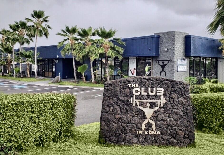 Exterior of The Club Kona