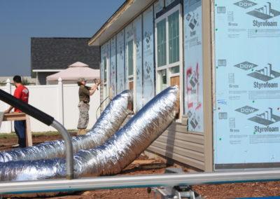 Siding & insulation