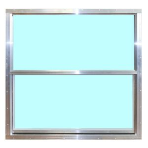 Aluminum Single Pane Window