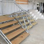 Wood & Galvanized Pipe Steps