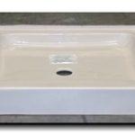 32x32 ABS or Fiberglass Shower Pan (White or Bone)