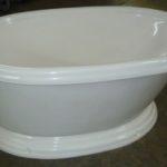36x60 Pedistal Tub