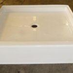 42x42 Fiberglass Shower Pan(White or Bone)