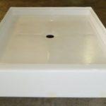 42x54 Fiberglass Shower Pan (White or Bone)