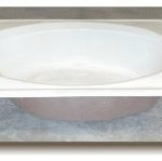 42x60 Oval With Rectangle Top Drop In Tub