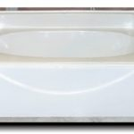 5042 60x42 Fiberglass Garden Tub (White or Bone)