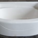 5042RF 60x42 Fiberglass Garden Tub (White or Bone)