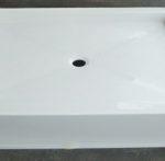 54x42 Fiberglass Shower Pan (White o Bone)