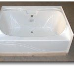 6042JW 60x42 Fiberglass Garden Tub (White or Bone)