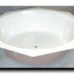 """60"""" Octagon Drop In Tub"""