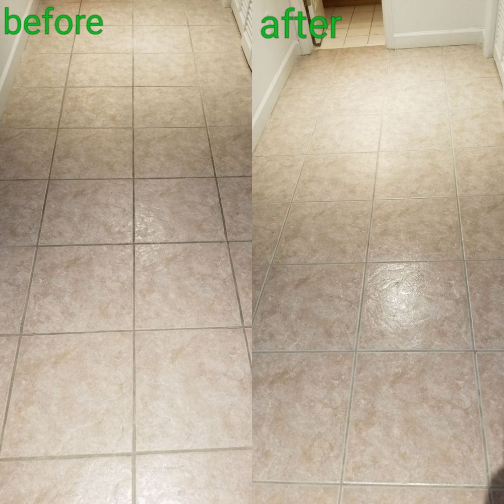 Tile and grout cleaning in Miramar Beach