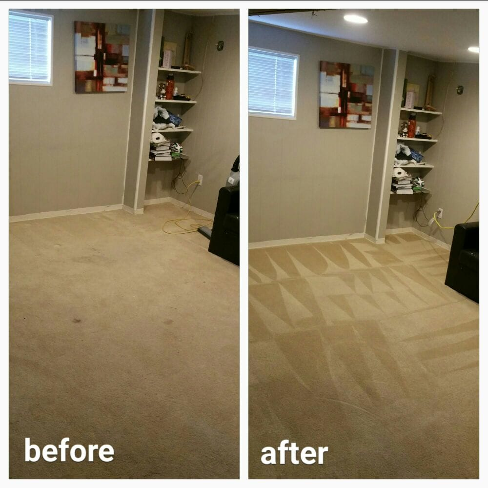 Carpet Cleaning Santa Rosa Beach Before and After Results