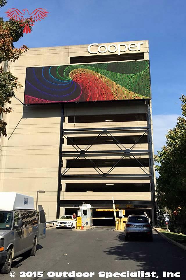 Cooper Garage Digital Signage Billboard By OSI 6