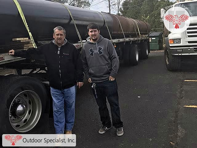 Outdoor Specialist, Inc. staff Sonny and Austin Kuhn
