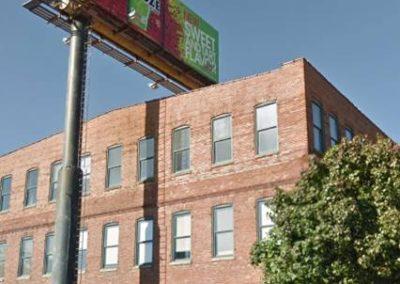 Original static billboard Baltimore