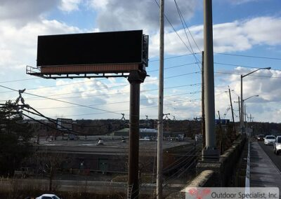 image Digital face 14x48 Rt, 4 Englewood, NJ new install by Outdoor Specialist, Inc.