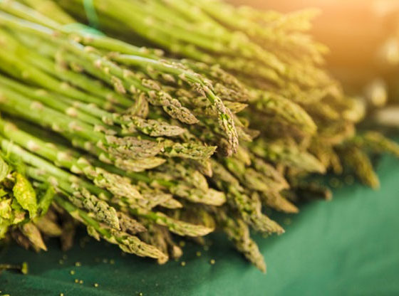we have packaging for asparagus