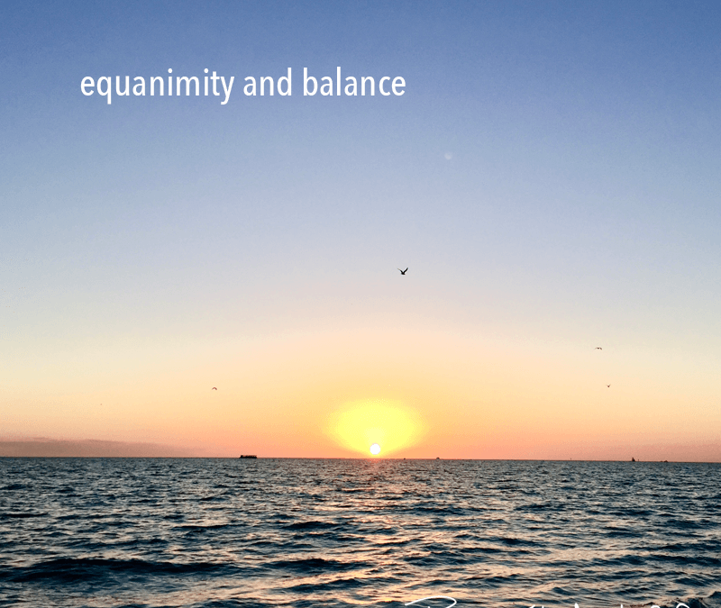 equanimity and balance