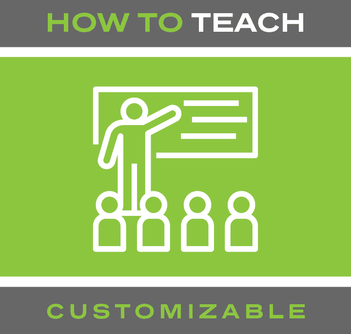 How to teach product button