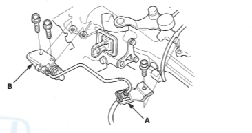 slave cylinder removal