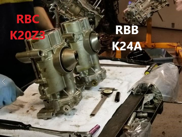RBB vs RBC oil pump pick up comparison