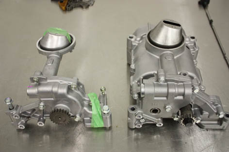 k20z3 vs k20a2 oil pump