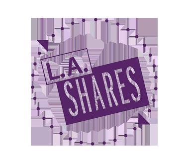 L.A Shares Logo