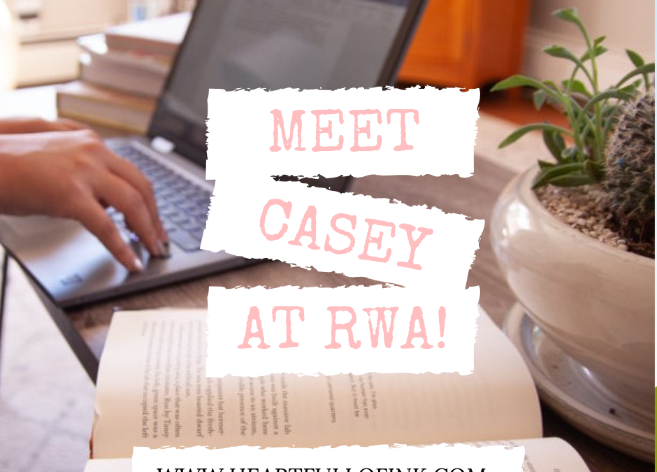 Meet Casey at RWA!
