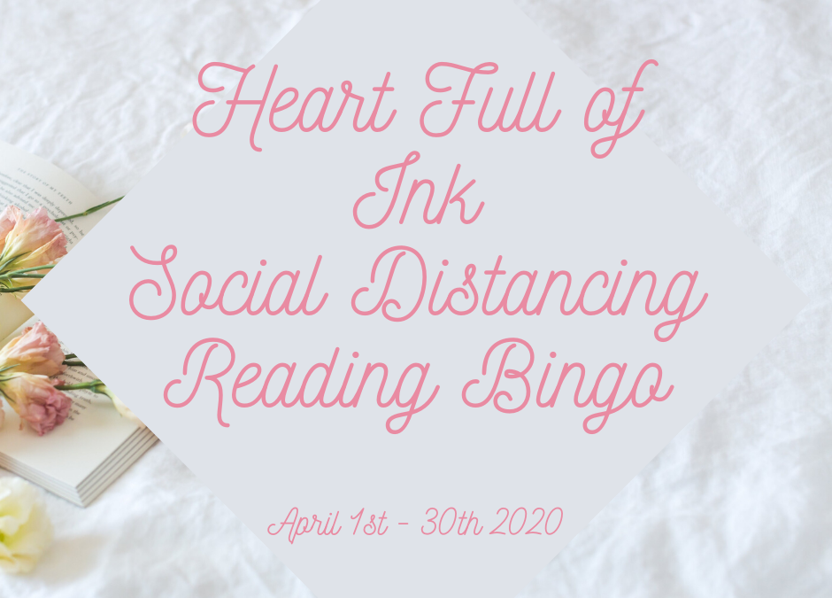 Heart Full of Ink Social Distancing Reading Bingo