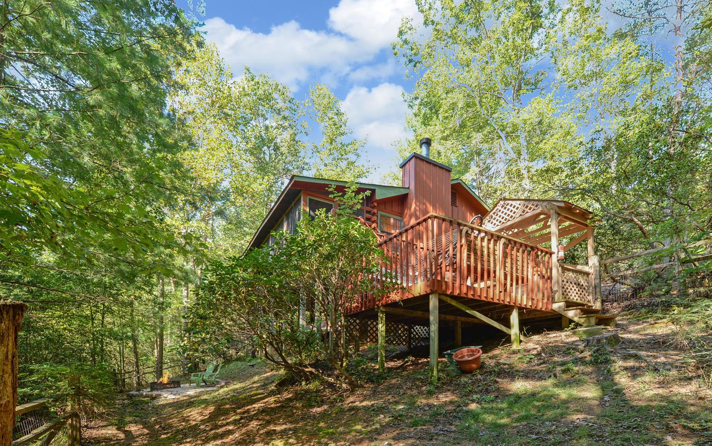 Highlands Cottage Georgia   Sliding Rock Cabins®