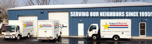 AmeriServe Best Easton Plumbers in PA Building