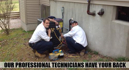 Professional Service HVAC Technicians