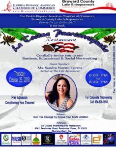 Sandra Noemi Torres, Public Speaking