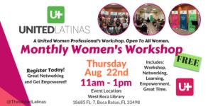 United Latinas Women Empowerment Events