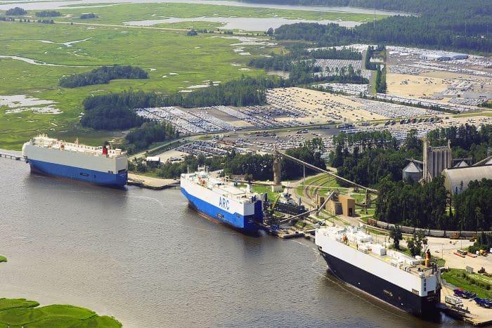 Brunswick Port Project Freight Heavy Haul