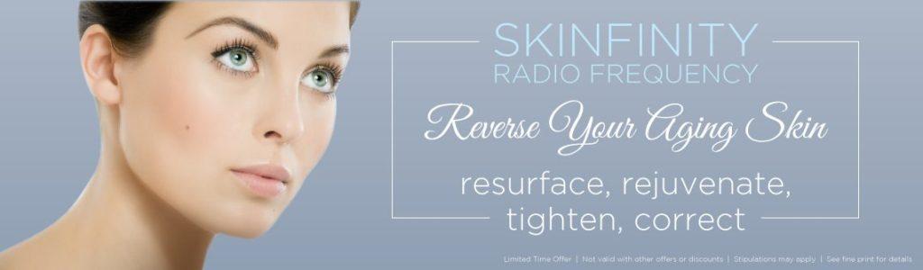 Skinfinity RF Skin tightening in Denver