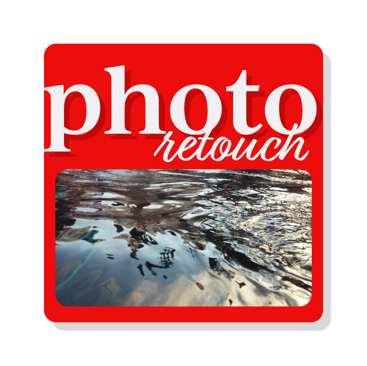 Photo Retouch Button