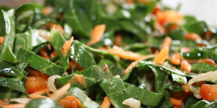 Vegan Salad with a Kick
