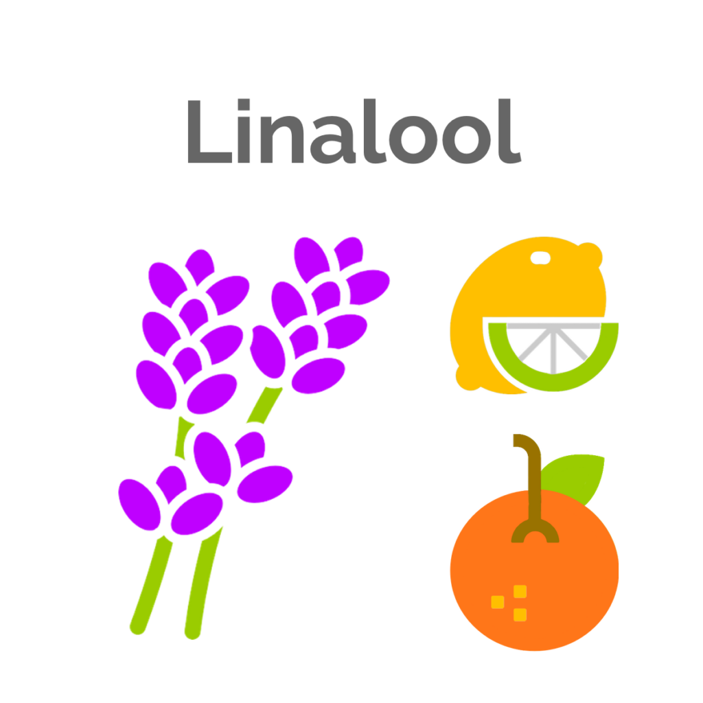 Linalool is the tertiary terpene found in Pre-98 Bubba Kush