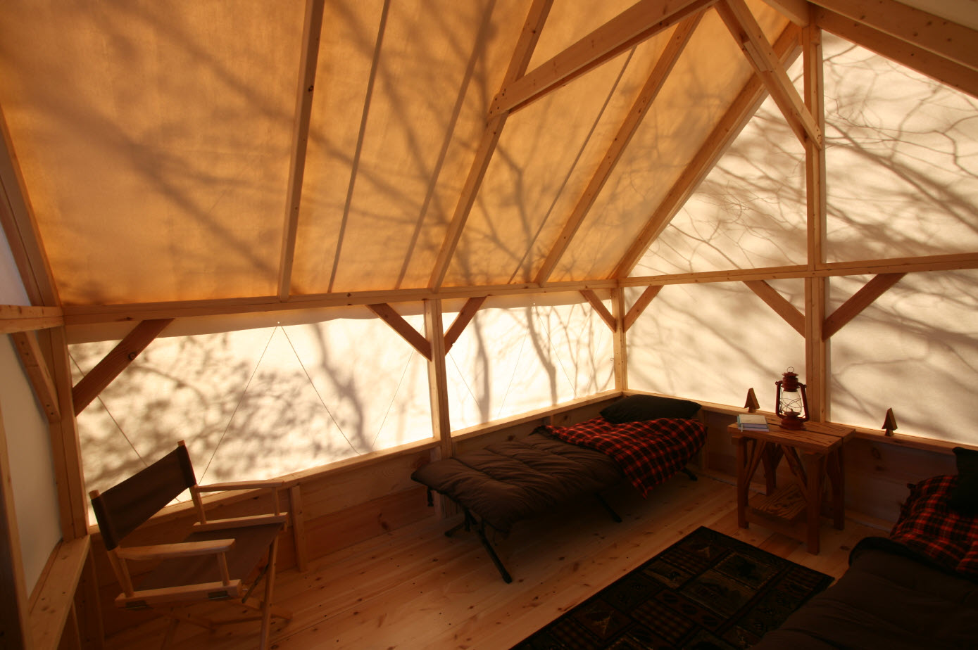 The Canvas Shack Tent-Cabin