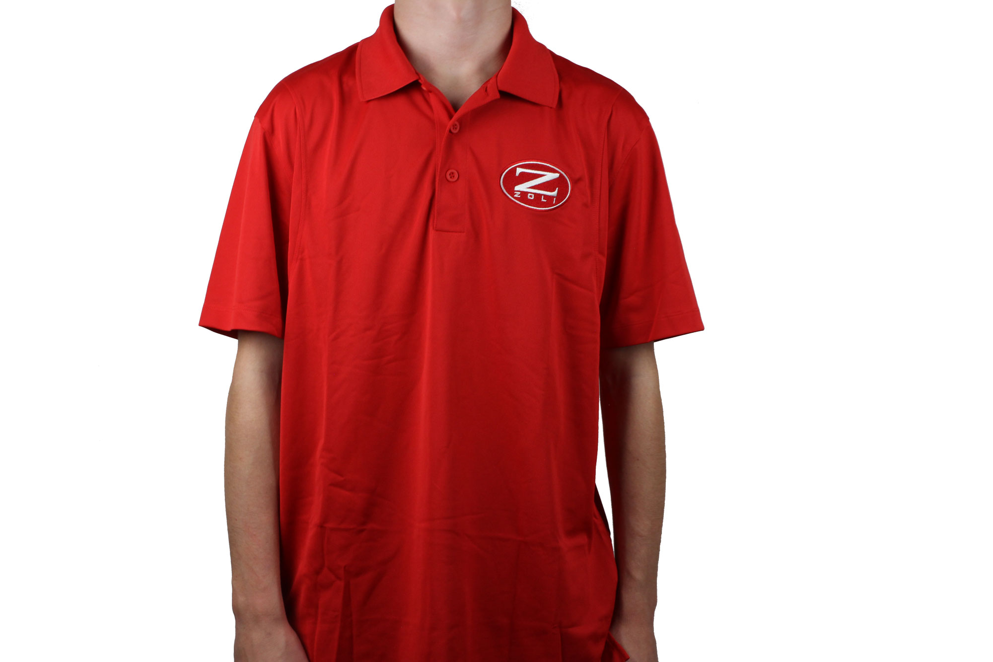 Zoli Embroidered Polo Shirt ( Red )