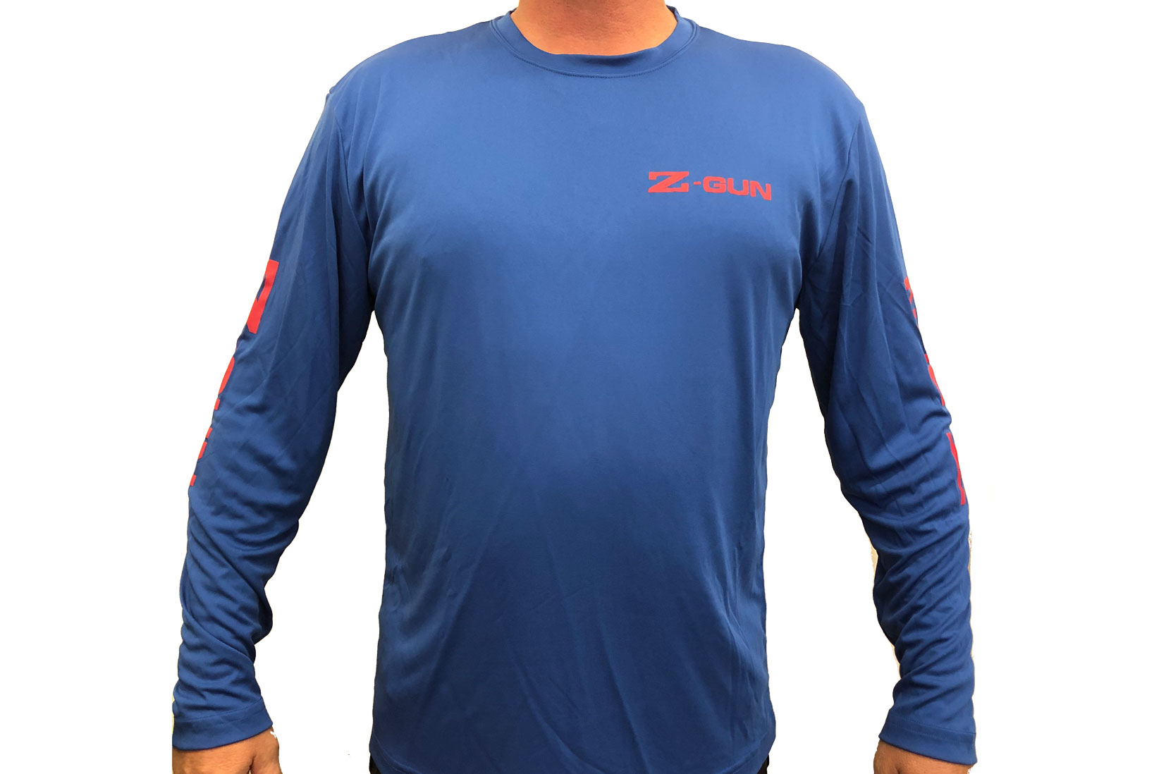 Zoli Z-GUN Long Sleeve Sport Shirt ( Blue )