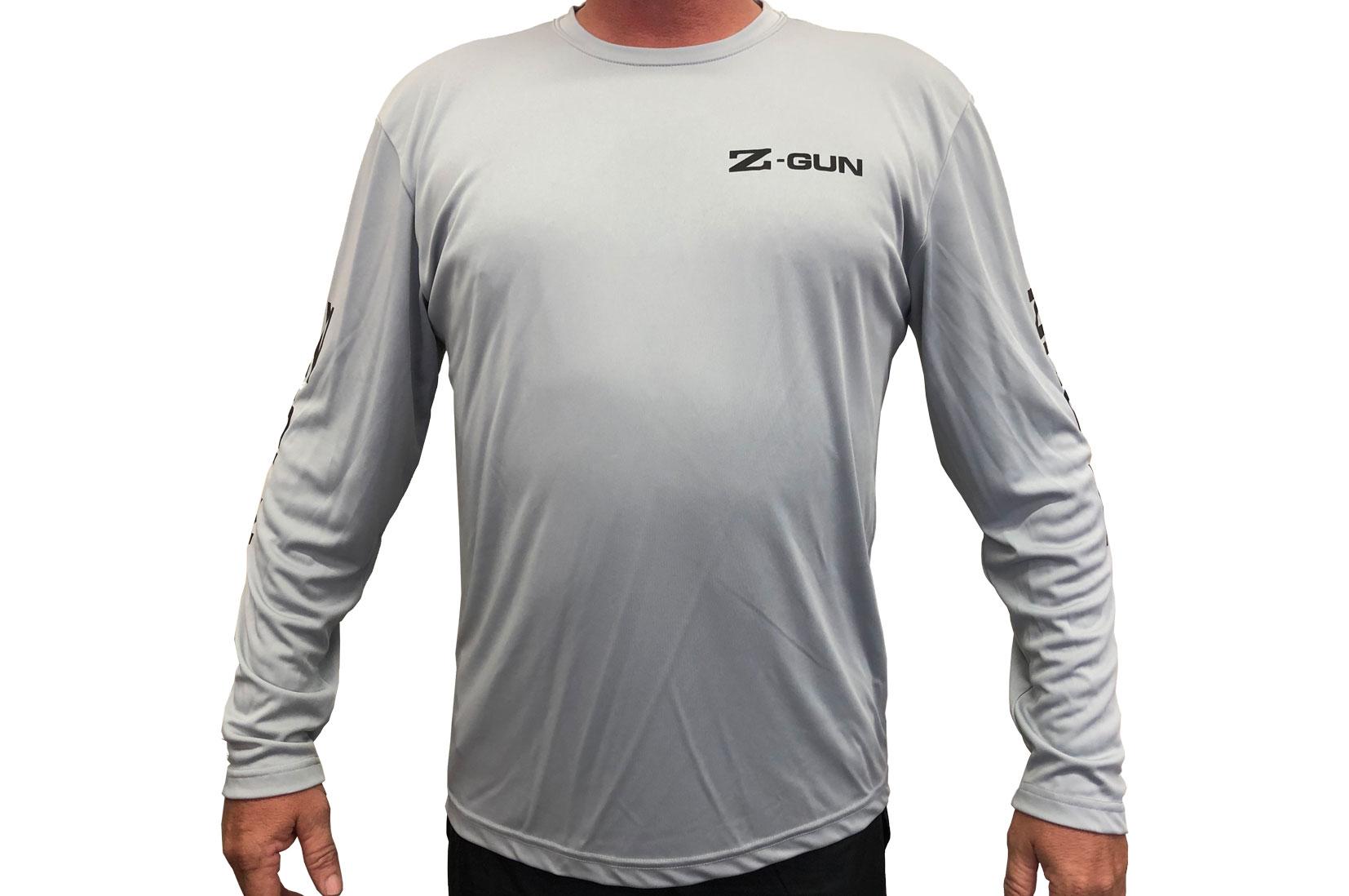 Zoli Z-GUN Long Sleeve Sport Shirt ( Silver )
