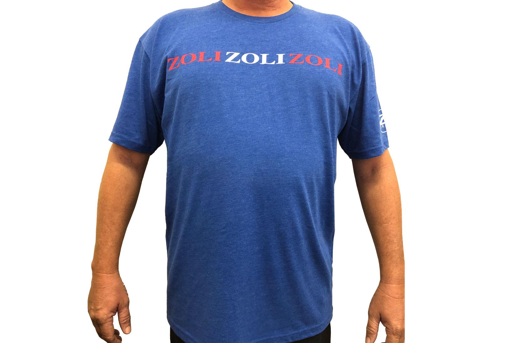 Zoli Zoli Zoli Blue Cotton Shirt