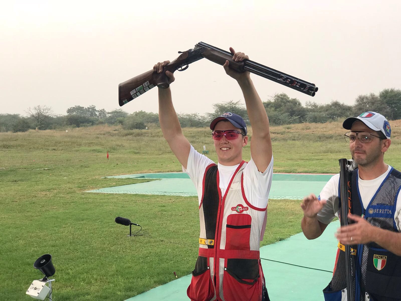 Ben Llewellin Takes Silver In ISSF World Cup Final